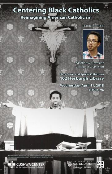 Notre Dame Cressler Poster 03-22-2018 preview